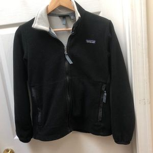 Patagonia Black synchilla Fleece Zip Jacket